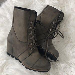 08f55f7ecdb Merona Shoes - Merona Women s Marisol Lace Up Wedge Boots